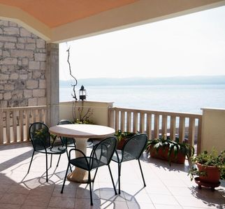 Photo for One bedroom apartment near beach Pisak, Omiš (A-1070-b)