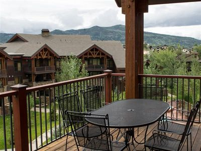 Photo for Upscale 5BR Steamboat Springs Condo w/ Large Deck!