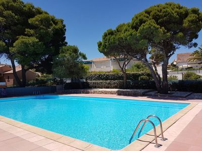 Photo for NARBONNE-PLAGE : 2 bedroom-villa with pool