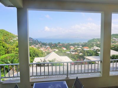 Photo for Hibiscus: calm and breathtaking views for this T3 overlooking the bay of Fort de France
