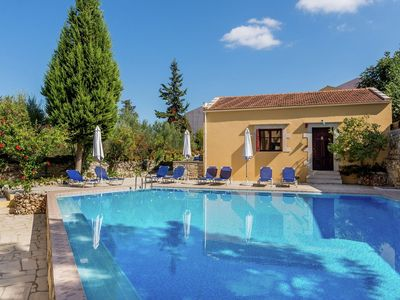 Photo for House, big communual pool, in village, close to beaches, near Chania NW