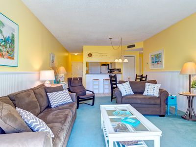 Photo for 2 bedroom 2 bath ground floor unit located in the Penthouse Building