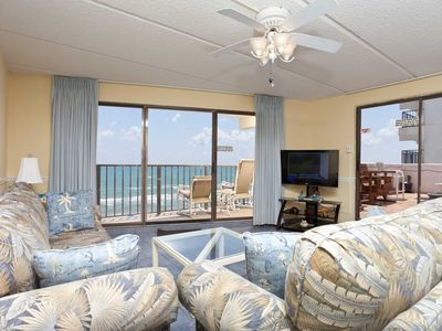 Florence II 502 - Beachfront Condo, Private Balcony with Hot Tub, Pool