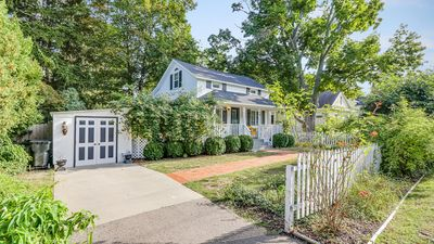 Did we mention it is quaint? Complete with a white picket fence.