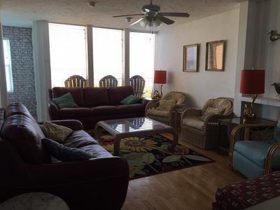 Photo for 4 BED 3 BATH TOWNHOUSE W/GARAGE DIRECTLY ON WORLD FAMOUS  COCOA BEACH!