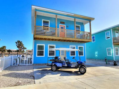 Photo for Deja Blue: FREE Golf Cart, Shared Pool, Close to Beach, SMART TV's