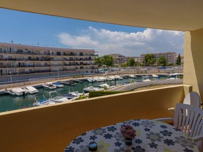"Photo for Apartment a short walk away (165 m) from the ""Playa El Arenal"" in Xàbia with Parking, Washing machine, Pool, Balcony (90135)"