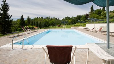 Photo for Maria Chiara Apartment with swimming pool in the Botanical Park of Fattoria Della Nave