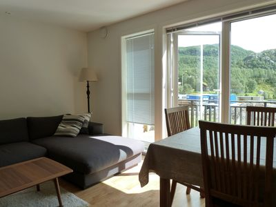 Photo for Great modern apartment on the mountain, Upper Sirdal