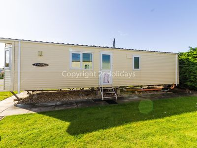 Photo for 6 berth caravan for hire at Southview Holiday park Skegness ref 33006M
