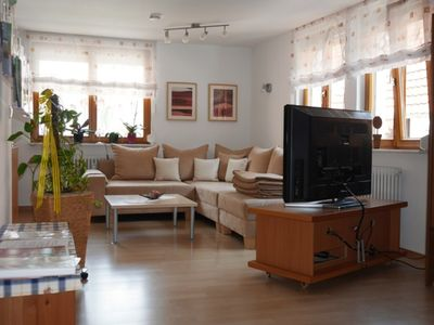 Photo for Apartment 60sqm, 1 bedroom, 1 living room / bedroom, max. 4 Pers. - Gästehaus Stelter