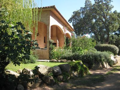 Photo for CHARMING VILLA 3 BEDROOMS GARDEN IN A WOODEN PARK-SWIMMING POOL