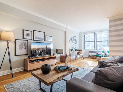 Photo for Charming Chelsea 1BR w/ Office nook, near Union Sq by Blueground