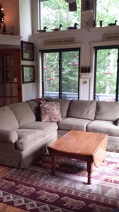 Photo for Comfortable townhome at the Village of Loon Mountain