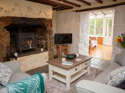 Photo for Hope Cottage, Lelant - Sleeps 4 with Parking