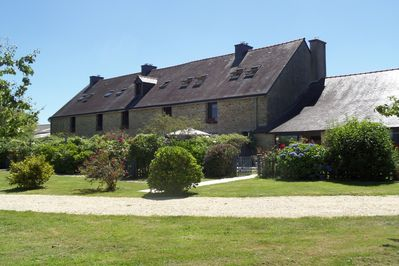 Front of the Cottages