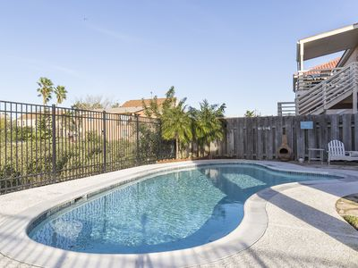 Private Home with Heated Pool! Views of the Bay and Fireworks! Walk to Beach!