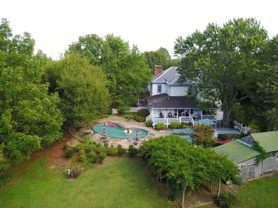Photo for 7 BR Manor - 10 min to Lynchburg & Appomattox Perfect for Family and Weddings!
