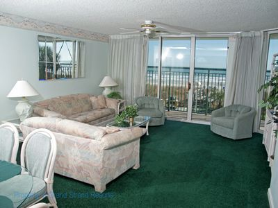Photo for Windy Hill Dunes 105! 1st floor, 3 BR Premium Ocean Front Condo. Book your vacation today!