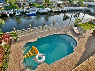 Photo for Luxury Coral Ridge Isles - Family Home - 2 Story Waterfront - Pool