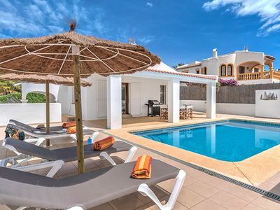 Photo for Villa Luca Javea is a pretty villa with an enclosed garden and pool surrounded by a sunny terrace...