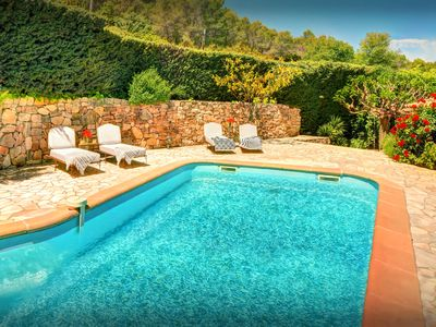 Photo for Enjoy village life, great views and a sunny private pool - OVO Network
