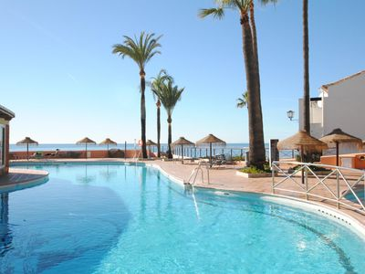 Photo for Dona Lola Claudia - 1 bedroom fully equiped apartment withing only few metters to the beach of Calahonda - Mijas Costa - CS106