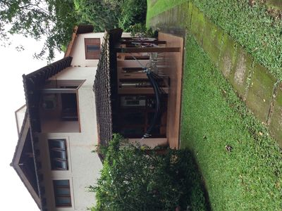 Photo for House in condominium with pool! 3 suites with air conditioning. 5 minutes from the beach