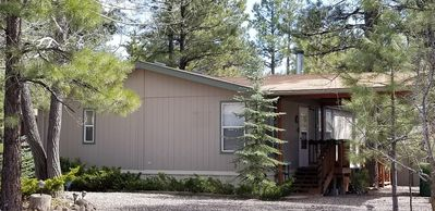 Relaxing, peaceful 3 bedroom 2 bath home just south of Flagstaff in Munds Park