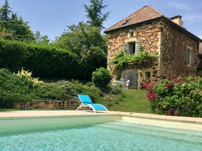 Photo for Charming House with Private Pool and 2 Bedrooms, Dordogne, Sarlat