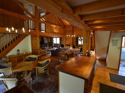 Photo for Beautiful 4 bed 4 bath Chalet in Vallorcine walking distance to gondola