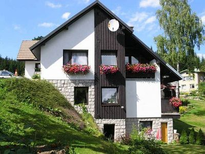 Photo for Holiday apartment with balcony on a hillside