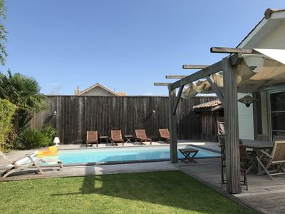 Photo for Villa 4 * - heated swimming pool - Bassin d'Arcachon