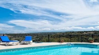 Our beautiful common pool with Villa Archimedes 2