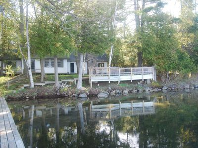 Photo for Torch Lake Lakefront Cottage & Guest House ~ Exceptional Lake Vacation!