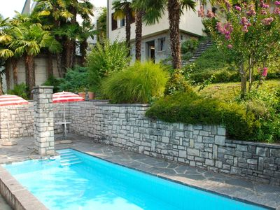 Photo for Beautiful apartment for 6 people with private pool, WIFI, TV, pets allowed and parking