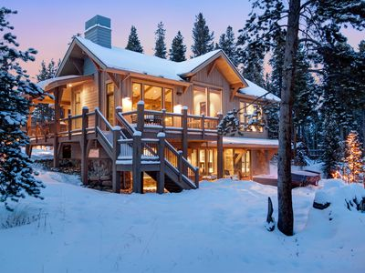 Photo for Spa-like Luxury Custom Home Close to Nordic Center and Peak 8-Private Hot Tub