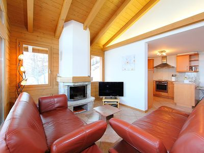 Photo for House 778 m from the center of Nendaz with Parking, Internet, Washing machine, Balcony (42293)