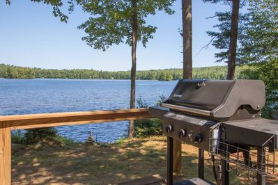 Use of grill and propane included in rental.