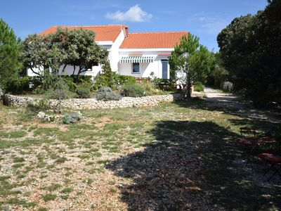 Photo for Not detached home with a private terrace in a quiet area,350 m from the sea