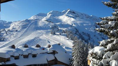 Photo for Large duplex ski in / ski out 4 rooms in the heart Avoriaz