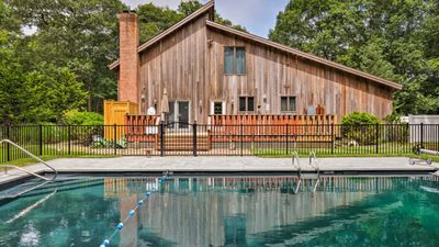 Photo for Beautiful East Hampton Home w/ Hot Tub & Pool