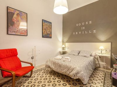 Photo for Seville Centre, Santa Cruz, Andalusian House, Shared Terrace,Parking Option