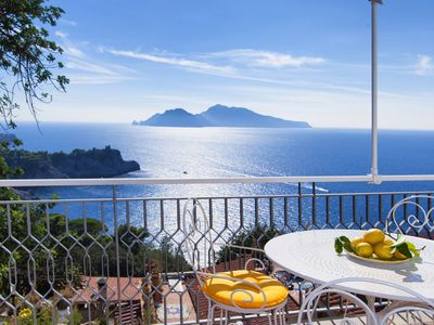 Photo for Lina's Dream - The new Home Holiday with a spectacular view of Capri and Ischia