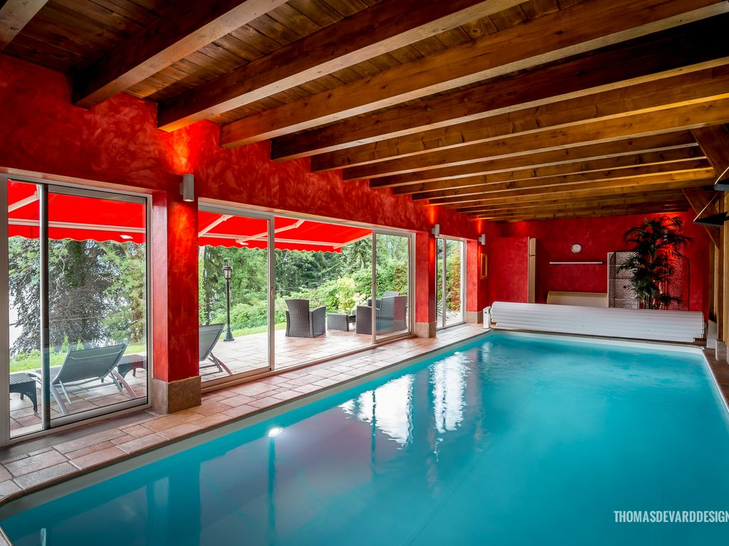 Luxury Cottage With Indoor Heated Pool Gerardmer Lorraine Alsace Lorraine
