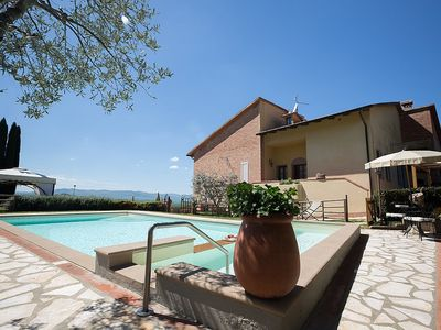Photo for Villa Salonia: A characteristic and welcoming villa surrounded by meadows and by green hills, with Free WI-FI.