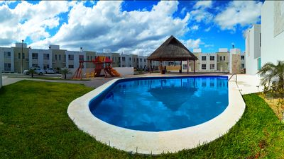Photo for Family-friendly, near from Mayan Attractions eco-parks, very secure neighborhood