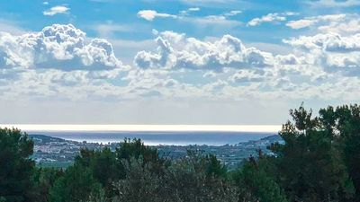 Photo for NAMASTE, villa immersed in the same nature five minutes from Ibiza center.