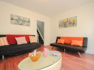 Photo for Beautiful Large Modern Bi Level Philly Apartment