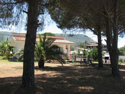 Photo for Capo Vaticano: house / villa with large garden, 300 meters from the sea